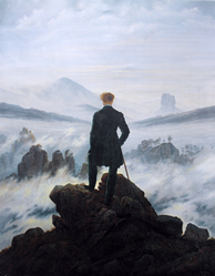 Caspar David Friedrich´s maleri
